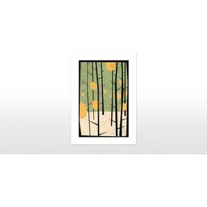 Square Dream von Yetiland, 42 x 59cm (A2) Gerahmte Kunstdrucke