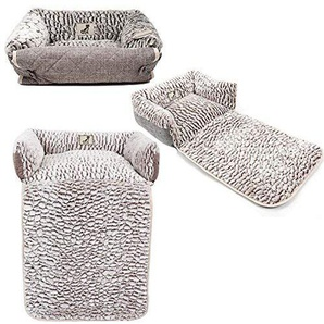 Alle Pet Lösungen Alfie Fleece Warm Hunde/Katzen Bett, Sofa/Couch/Stuhl Displayschutzfolie, kleine
