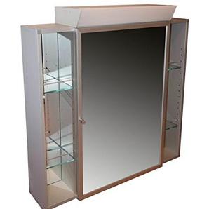 Spiegelschrank Aluset 80 Aluminiumspiegelschrank