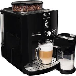 Kaffeevollautomat EA82F8 LattEspress Quattro Force schwarz, Krups