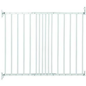 Safetots Schutzgitter, ausziehbar, Metalltor, 62,5bis 106,8cm, weiß