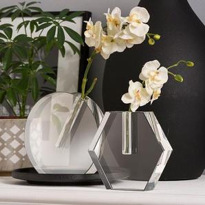 Vase ,Transparent ,Glas