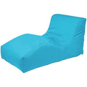 Sitzsack  Wave Plus ¦ blau ¦ Maße (cm): B: 70 H: 65 T: 125 Garten  Auflagen & Kissen  Outdoor-Sitzsäcke » Höffner