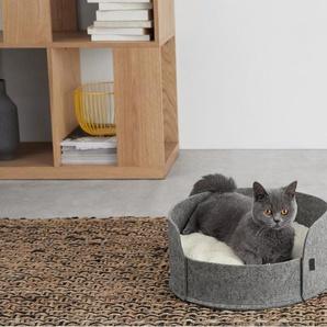 Hyko kleines Haustierbett, Filz in Grau