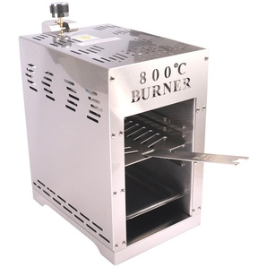 Burner 800° Oberhitze-Gasgrill