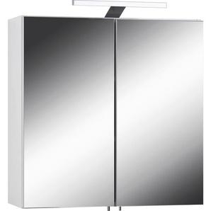 Spiegelschrank  »Sharpcut«, weiß, FSC-Zertifikat, , , FSC®-zertifiziert, Homexperts