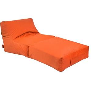 OUTBAG Peak Sitzsack Liege PLUS Orange