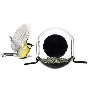 Vogelhaus Birdfeeder Born in Sweden transparent, Designer Pascal Charmolu, 11.5x17.6x12 cm