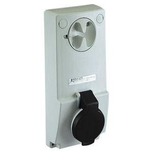SCHNEIDER ELECTRIC Anbausteckdose verriegelt, 16A, 3p+N+E, 480-500 V AC, IP44