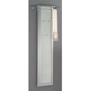 MONDO Garderobe TITAN Weiß Hochglanz ca. 62 x 173 x 30 cm