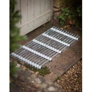 Garden Trading galvanisierte Fußmatte Türvorleger, verzinkt, groß