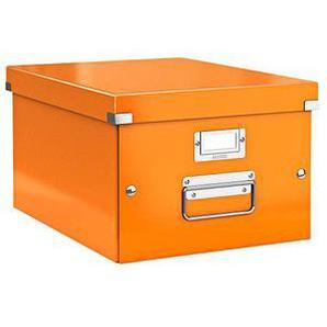 LEITZ Click & Store Aufbewahrungsbox 16,7 l orange 28,1 x 36,9 x 20,0 cm