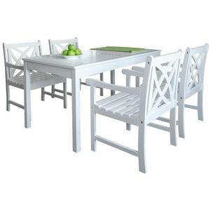 4-Sitzer Gartengarnitur Holladay