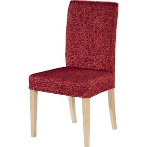stuhlhussen in rot preisvergleich moebel 24. Black Bedroom Furniture Sets. Home Design Ideas