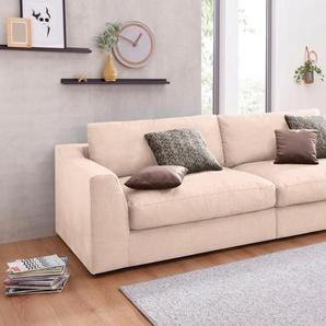 sit&more Big-Sofa, beige, Luxus-Microfaser ALTARA NUBUCK®