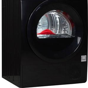 GORENJE Wärmepumpentrockner DE83, schwarz, Energieeffizienzklasse: A+++
