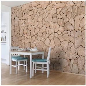 Bilderwelten Vliestapete Premium Breit »Apulia Stone Wall«