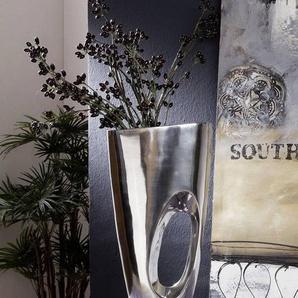 Vase Aluminium 24x50 silber SPECIALDEKO #86