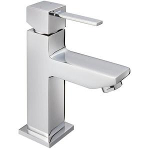 Waschtischarmatur »Trento«, Wasserhahn, Einhebelmischer, Badarmatur, eckig