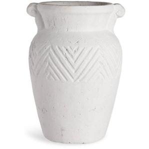 Vase Krug, D:20cm x H:26,5cm, weiß