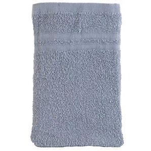 Home4You Waschhandschuh Waschlappen BAJANTA 10   Baumwolle   Grau   15x21 cm