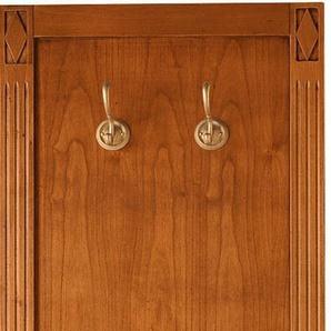 Garderobeelement Modell 9372 mit 2 Kleiderhaken, braun, »Villa Borghese«, SELVA