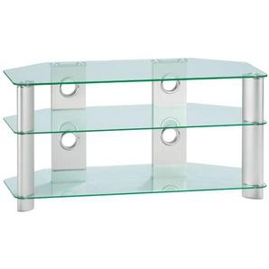 CASAVANTI TV-Möbel DICK Klarglas/Metall ca. 120 x 50 x 45 cm