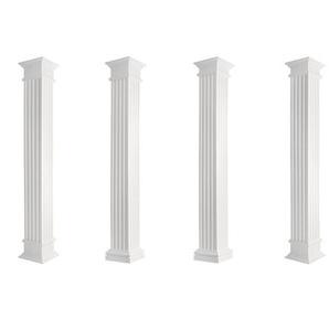Säulen   Fassade   kanneliert   Set Auswahl   versch. Größen   LC:Kapitell, Large - ø 405 mm - PRESTIGE DECOR