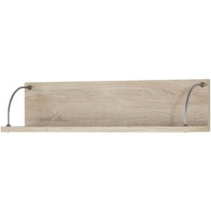 Wandboard | holzfarben | 82 cm | 20 cm | 20 cm | Möbel Kraft