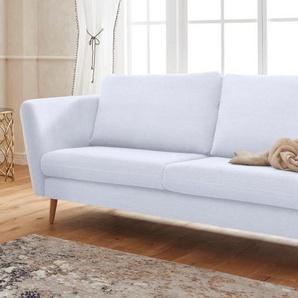 Guido Maria Kretschmer Home&Living 2-Sitzer »Cergy«, in skandinavischem Stil, mit Beinen aus Eiche, beige, Baumwolle