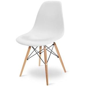 Eames DSW Stuhl - Weiß