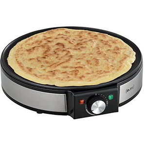 [in.tec] Crepes Platte Crepe Maker - inkl. Crepes-Wender Wrapmaker Pfannkuchen-Pfanne Omelette Wrap 1200W