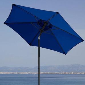 GARTENGUT Sonnenschirm »Push up Schirm Rom«, Ø 200 cm