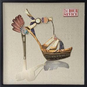 Kayoom Wandbild »Style II«, 42cm x 42cm