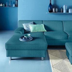 Inosign Ecksofa ohne Bettfunktion, grün, B/H/T: 251x40x51cm, hoher Sitzkomfort