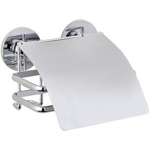 WENKO Toilettenpapierhalter »Express-Loc Cali«, Mit Deckel, Befestigen ohne bohren