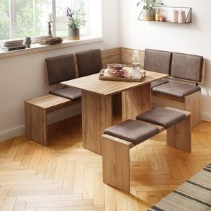 Home affaire Eckbankgruppe »Essen«, (Set, 3 tlg)