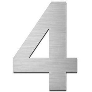 Hausnummer zum Aufschrauben 4