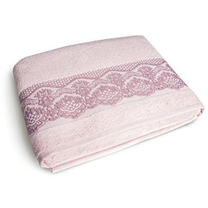 Excelsa Country Spa Duschtuch, Baumwolle, 39x 34x 4cm 39x34x4 cm Rosa