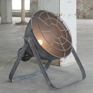 Stehlampe in Beton Grau Metall