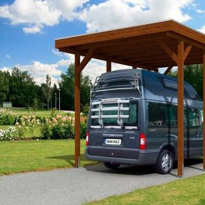 SKANHOLZ Einzelcarport »Friesland«, BxT: 397x555 cm, für Caravan