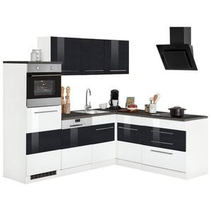 Winkelküche »Trient«, ohne E-Geräte, Stellbreite 230 x 190 cm, weiß