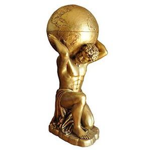 Griechische Möbel Atlas Globus Bar Griechische Figur