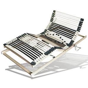 Benninger Select Motor-Rahmen, 7-Zonen, 44 Leisten, 12-fache Härtegradregulierung, sehr belastbar & extra stabil (100 x 200 cm)