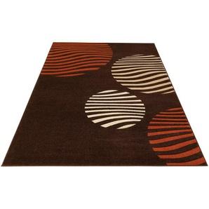 My Home Teppich »Rima«, 160x230 cm, 12 mm Gesamthöhe, braun