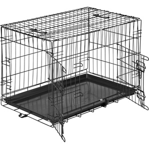 Hundebox Gitter tragbar 76 x 47 x 51 cm
