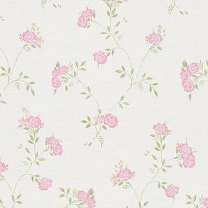 Vliestapete »Liberté Landhaus Stil Shabby Chic«, gemustert, floral, geblümt, glatt