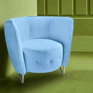 INOSIGN Sessel, blau, Kunstleder SOFTLUX®