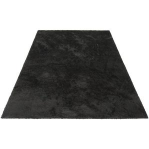 Hochflor-Teppich »Irma«, my home, rechteckig, Höhe 32 mm, Besonders weich durch Microfaser