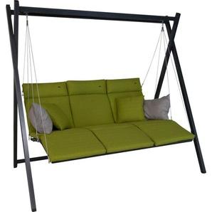 ANGERER FREIZEITMÖBEL Hollywoodschaukel »Relax«, 3-Sitzer, grün
